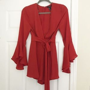 NWT Rust colored jumper size S